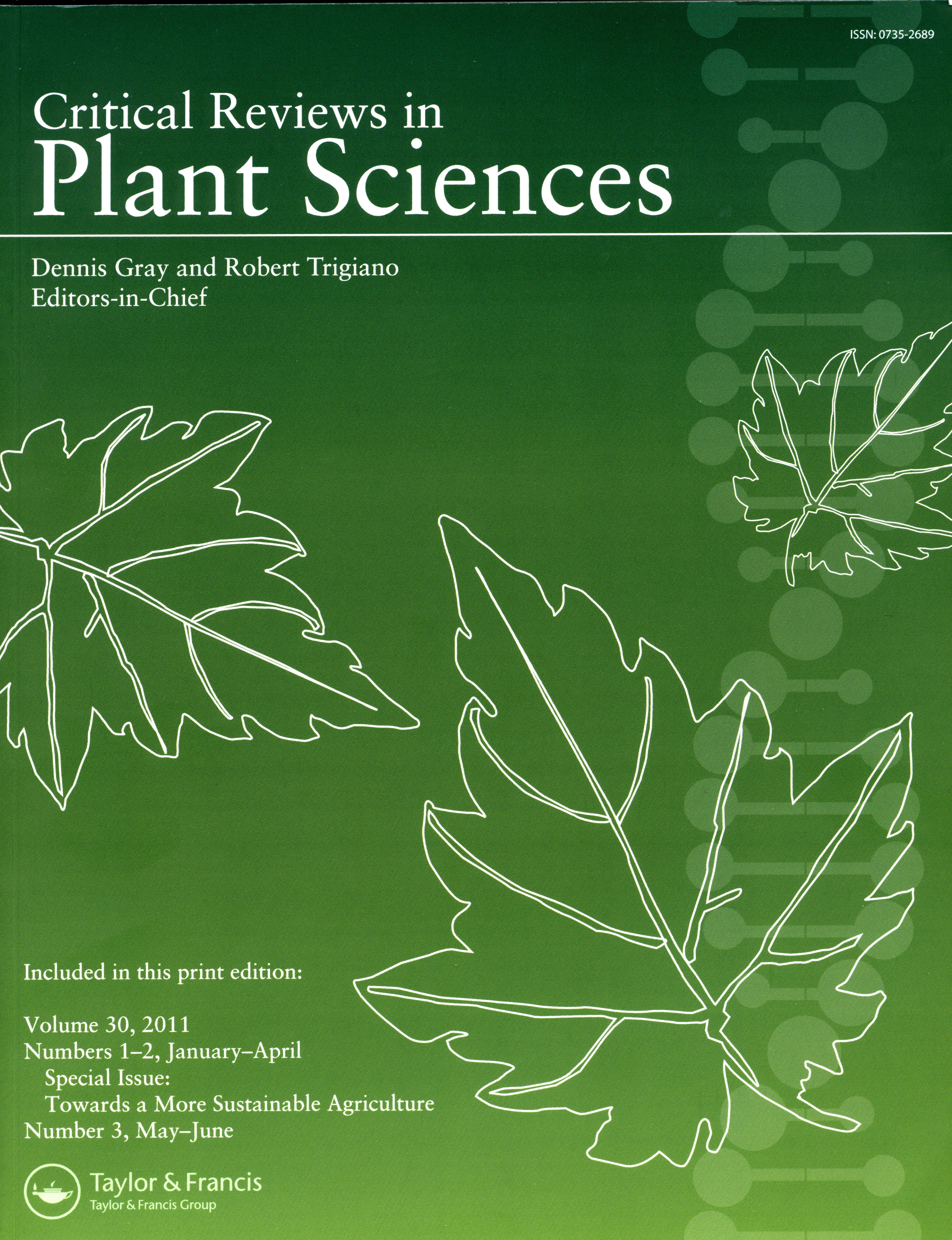 Critical reviews in Plant Science