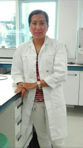Doctor Tzompa-Sosa in a Wageningen laboratory.
