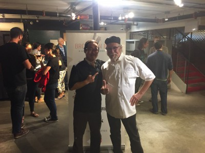 Chef Yoon and David Gordon