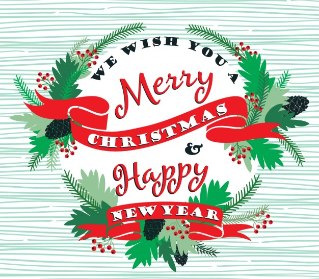 A Very Merry Borik�n Christmas: Merry Christmas And Happy New Year