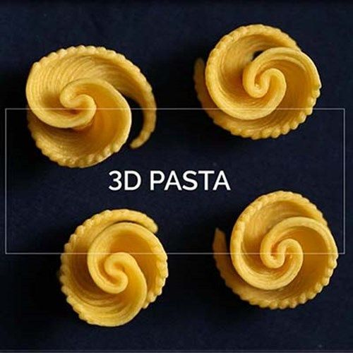 3D printed pasta edible insects