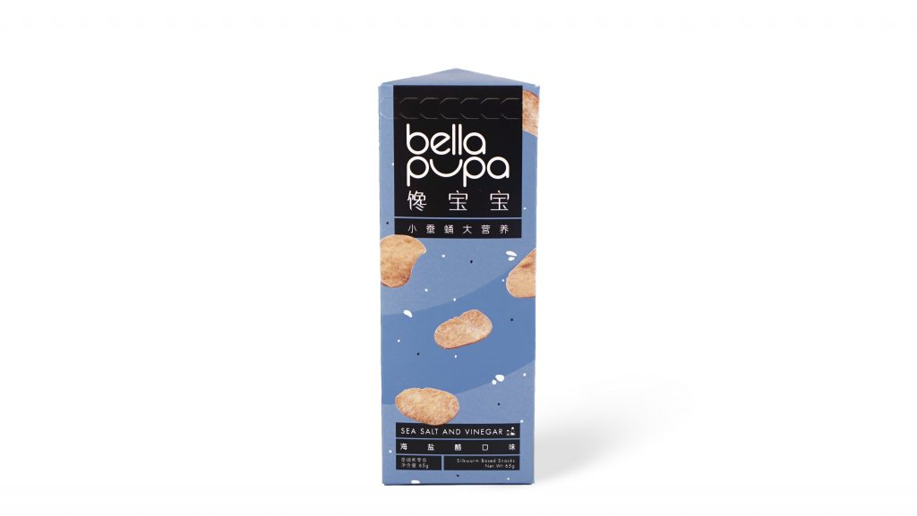 Bella Pupa insects snack